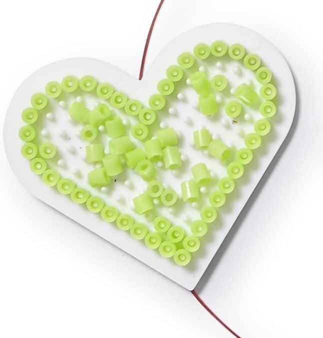 Perleplade hjerte